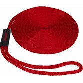 "0.375"" x 15' Solid Braid MFP Dockline in Red"
