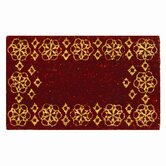 Holiday Celebration Festive Holiday Coir Mat