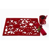 Twas The Night Snowflake Felt Placemat (Set of 4)