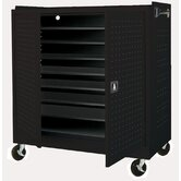 Mobile Laptop Security Cabinet with Charging System