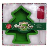 Kid's Holiday Tree Silicone Mold Set