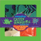 Green Dinosaur Cookie Set
