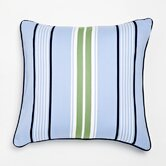 Stars and Stripes Preppy Stripe Decorative Pillow