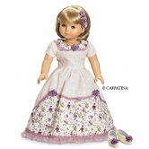 American Girl Dolls Victorian Romance Ball Dress, Hair Accessories and Shoes