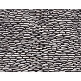 "Standing Pebbles 4"" x 12"" Interlocking Mesh Tile in Cascade"