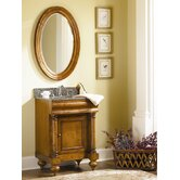 "Guild Hall 24"" Distressed Vanity with Granite Top"