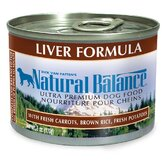 Liver Formula Wet Dog Food (13-oz, case of 12)