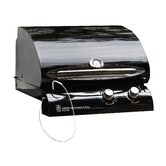 24&quot; Cook Number Black Porcelain Gas Grill Head