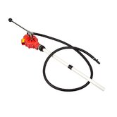 Polyester Drum Pump w/ 8 ft. EPDM Discharge Hose for Agricultural Chemicals