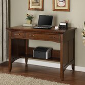 Oakton Village Project Computer Desk with Hutch
