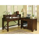 Castlewood 24&quot; Writing Desk Hutch