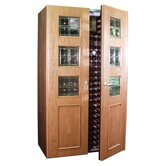 700 Empire B Wine Cooler Cabinet in Oak