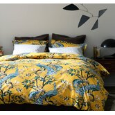 Peacock Citrine Duvet Collection