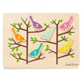 Counting Birds Wooden Puzzle