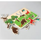 Woodland Wooden Puzzle