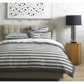 Graphic Stripe Duvet Set