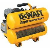 Hand Carry-Electric Compressors - 4 h.p. 4 gallon twin stack air comp. electric