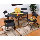 5 Piece Folding Table Set
