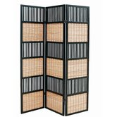 Alternating Panels Room Divider