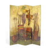 The Cowboy 4 Panel Distressed Room Divider