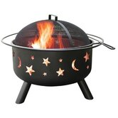 Big Sky Stars and Moon Fire Pit