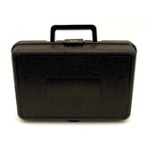 Blow Molded Case in Black: 8 x 12 x 3.75