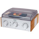 3 Speed Stereo Turntable with AM / FM Radio