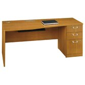 "Quantum Series - 72"" Right Hand Desk with Pedestal"