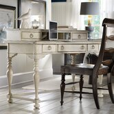 Harbour Pointe Writing Desk with Hutch