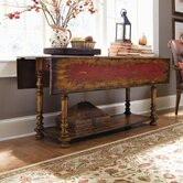 Seven Seas Drop-Leaf Console Table
