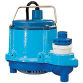 "1.5"" 1/3 HP Big John Submersible Sump Pump"