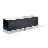 Florence Knoll Four Position Credenza with Two Cabinets on Right