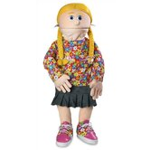 "30"" Cindy Professional Puppet with Removable Legs in Peach"