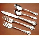 Old Master 5 Piece Dinner Flatware Set with Old Style Blade