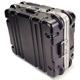 "Maximum Protection Series: ATA Shipping Case:  14 5/8"" H x 19 9/16"" W  x 19 9/16"" D (outside)"