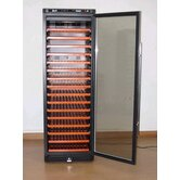 166 Bottle Wine Refrigerator with Stainless Steel Framed Door