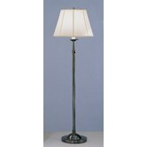 Alvin Club Floor Lamp in Deep Patina Bronze