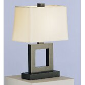 Doughnut  Duncan Table Lamp in Deep Patina Bronze Over Brass