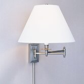 Kinetic  Swing Arm Wall Lamp in Brushed Chrome