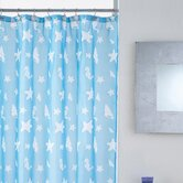 Shells Shower Curtain with Hooks