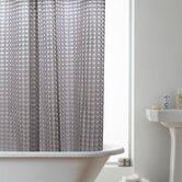 3D Hookless Shower Curtain in Smoke