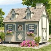 Small 4 x 6 Cape Cod Playhouse Kit with Floor