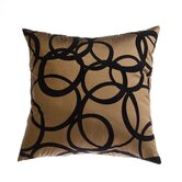 "Mia 18"" Pillow in Copper Black"