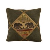Bear Diamond Shape Pillow