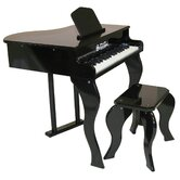 Elite Baby Grand Piano in Black