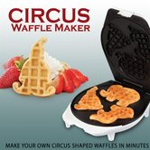 Circus Shape Waffle Maker