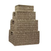 Seagrass Storage Box (Set of 4)