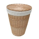 Single Round Laundry Basket