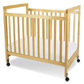 SafetyCraft Compact Size Clearview Crib