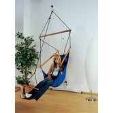 Swinger Hanging Chair Set in Blue